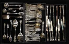 Towle Old Master sterling silver partial flatware