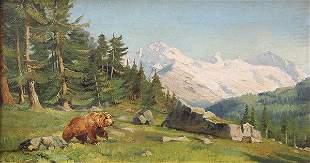 Painting, Carl Rungius
