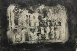 Etching Louise Nevelson
