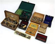 lot of 9 Vintage watchmakers and jewelers cased