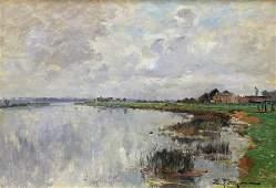 Painting Edmond Marie Petitjean