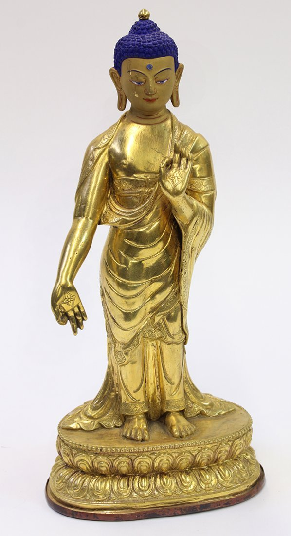 Sino-Tibetan Figure of the Buddha