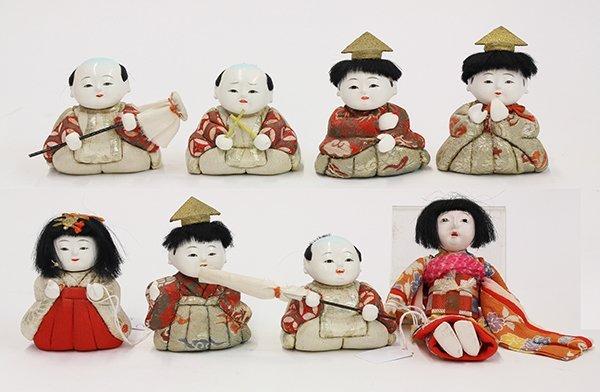 Japanese Kimekomi Dolls