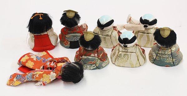 Japanese Kimekomi Dolls - 2