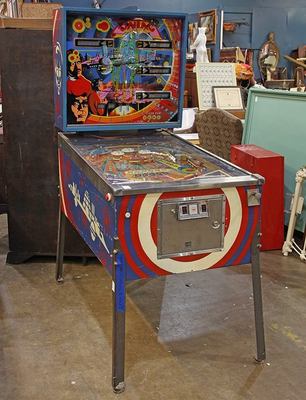 Contact pinball machine