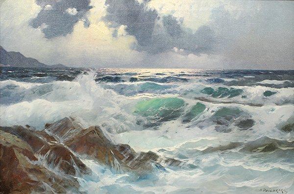 Painting, Alexander Dzigurski