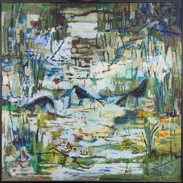 Painting by Joseph Almyda