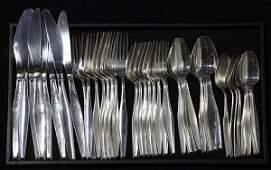 American Gorham sterling silver flatware service for