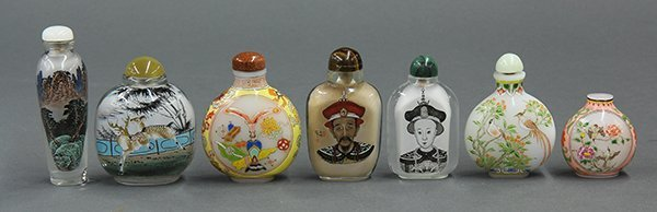 Chinese Inside Painted/Enameled Snuff Bottles