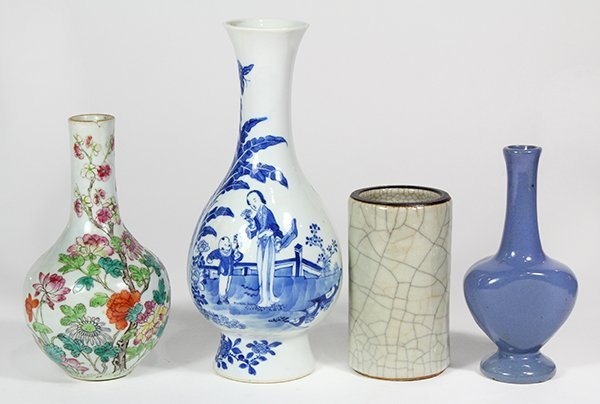 Group of Chinese Porcelain Vases