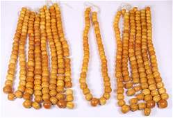 (Lot of 8) Collection of large phenolic resin African