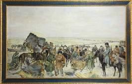 Painting, Russian School (20th c.), Emigre
