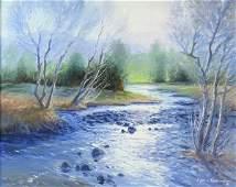 Painting by E John Robinson