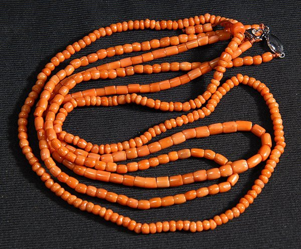 Chinese Coral Necklaces