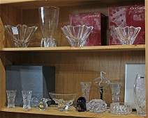 Art glass and crystal group