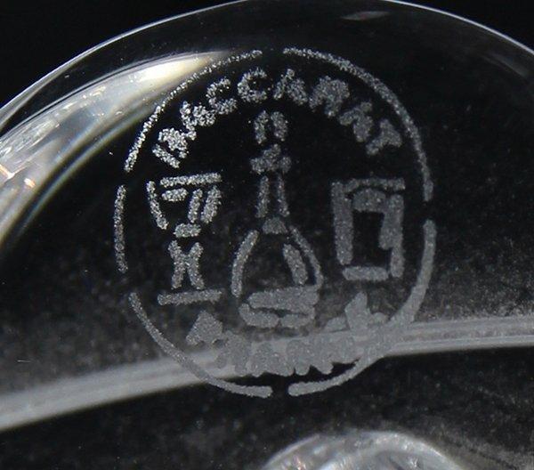 Pair of Baccarat crystal candelabra - 5