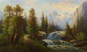 Painting Hermann Herzog