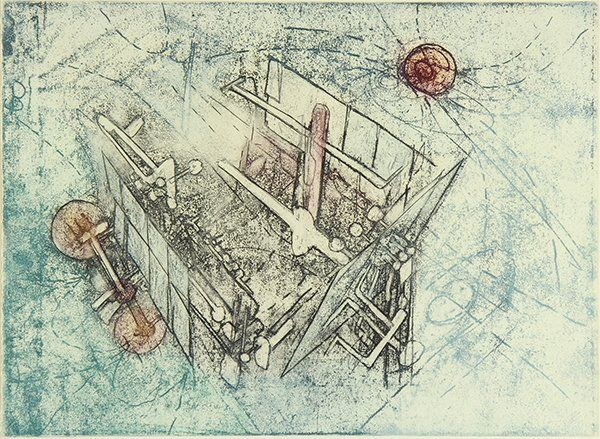 Print, Roberto Matta