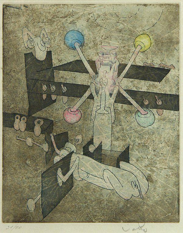 Prints, Roberto Matta