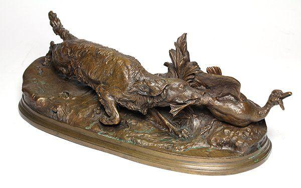 Bronze, Pierre Jules Mene