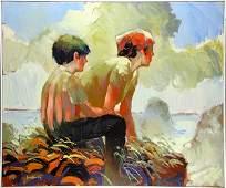 Painting Keith Lindberg