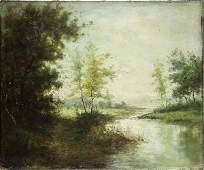 Painting, French Barbizon School (19th century)