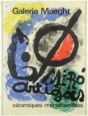 Joan Miro Galerie Maeght Exhibition Posters