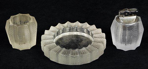 (lot of 3) Lalique