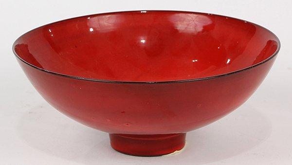 James Lovera (1920 - 2015, California) footed bowl,
