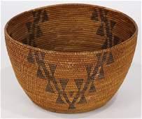 Native American Northern California Maidu basket