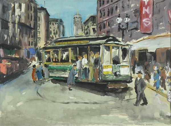 Watercolor, Maurice George Logan