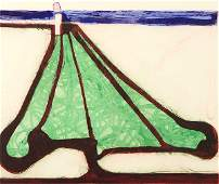 Print Richard Diebenkorn Green Tree Spade 1982