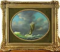 Sailing ship paintings