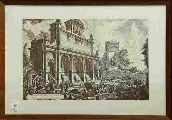 Print After Giovanni Battista Piranesi