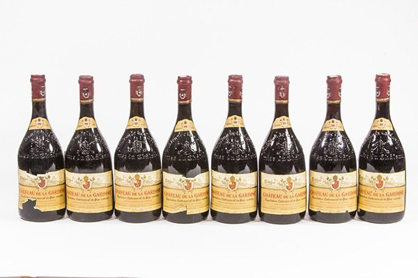 (lot of 8) French wine group