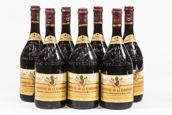 (lot of 7) French wine group