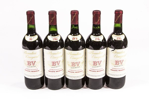 (lot of 5) California wine group