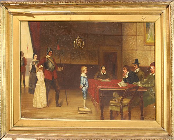 Painting of Trial of the Boy in Blue - 2