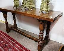 Spanish Colonial style console table
