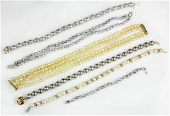 Collection of cultured pearl, imitation pearl, diamond
