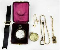 Collection of watches and miscellaneous jewelry