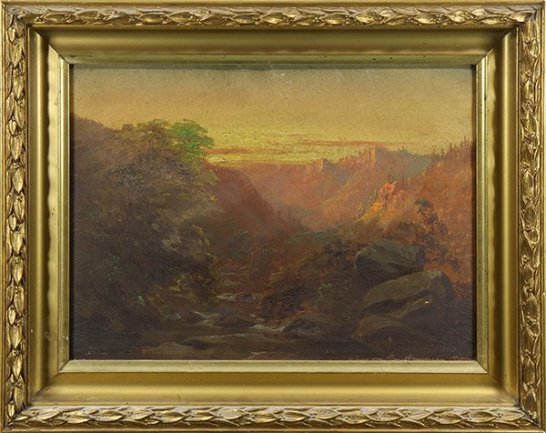 Painting, View of the American River