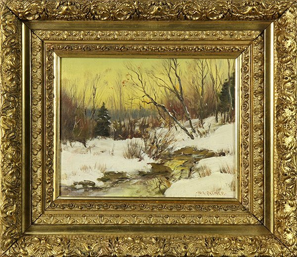 Painting, Attributed to Walter Launt Palmer - 2