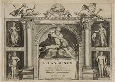 Prints Old Master Maps and Allegorical Scenes