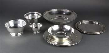 American sterling silver hollowware by Gorham, Randahl,