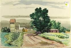 Watercolor William Dickerson
