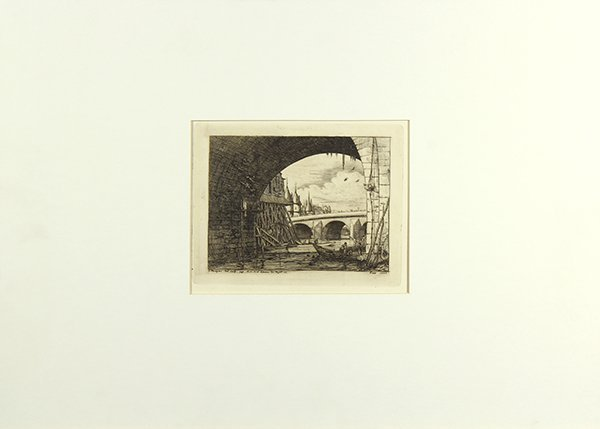 Print, Charles Meryon