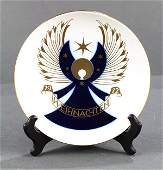 lot of 5 KPM porcelain Christmas collectors plates