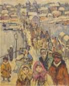 Painting, Leon Gaspard