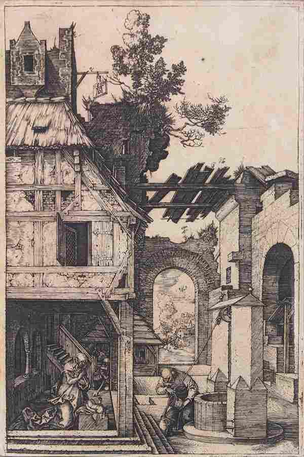 Print, Albrecht Dürer, The Nativity